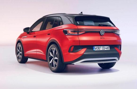 Представлен заряженный Volkswagen ID.4 GTX
